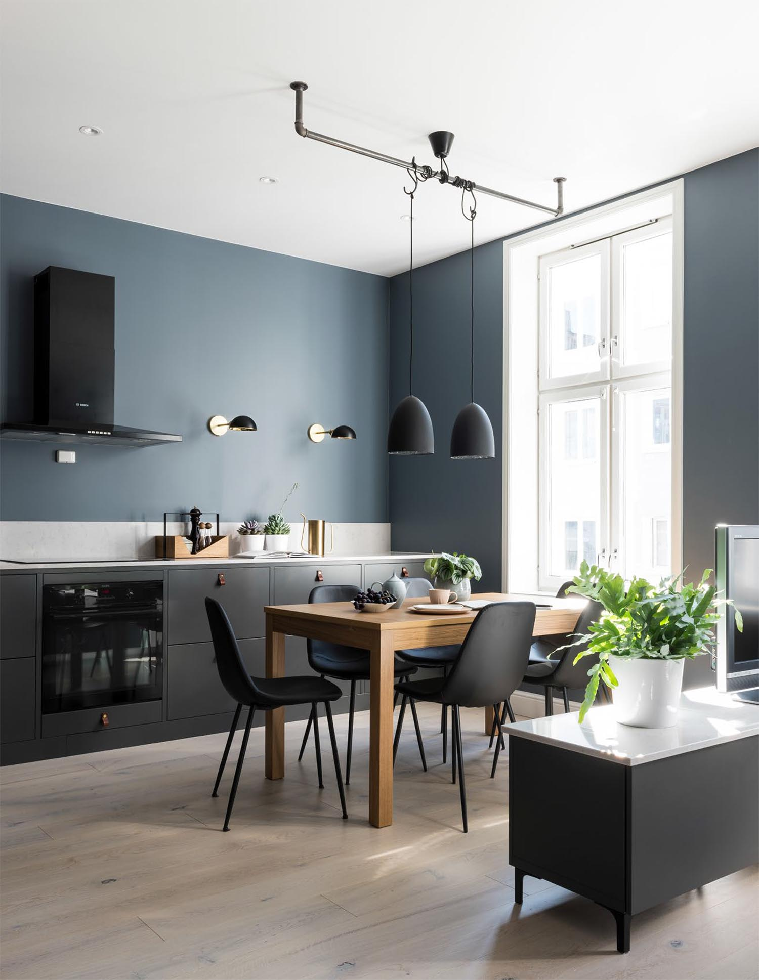 nil, kjøkken, interiør, interiørarkitektur