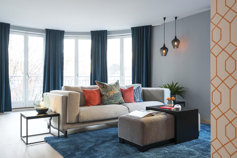 stue, sofa, sofagruppe, interiør
