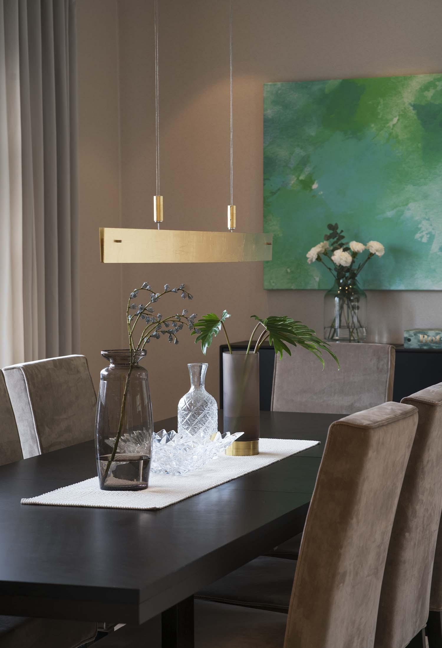 spisestue, interiør, dekor, bordpynt