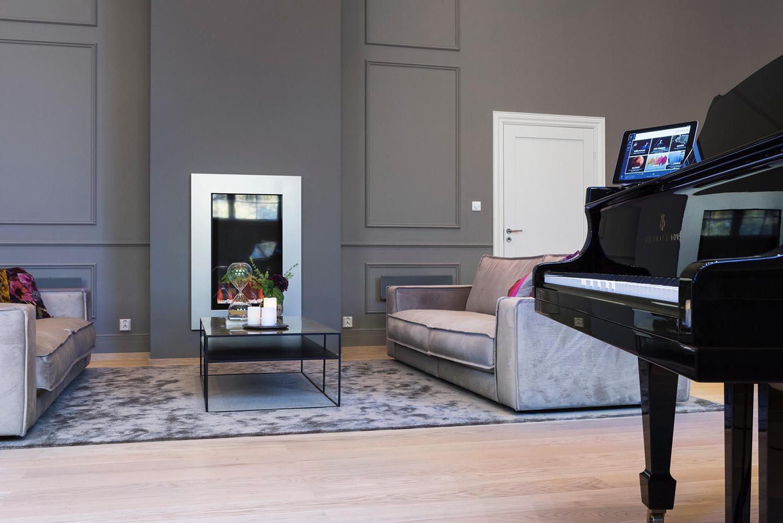 herskapelig, interiør, hotell, Veritas Have, visningssenter, sofa
