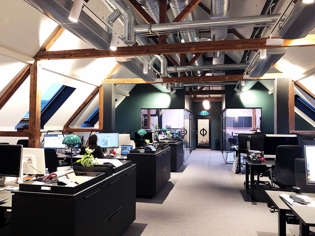 kontor, åpent kontorlandskap, ramsoskar, Ramsøskar, interiør, kontorbygg