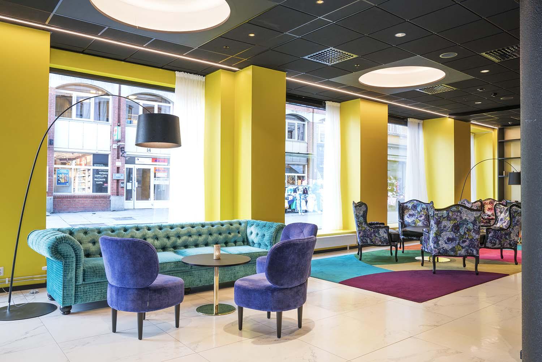 lobby, hotell, Thon hotell spectrum, sittegruppe