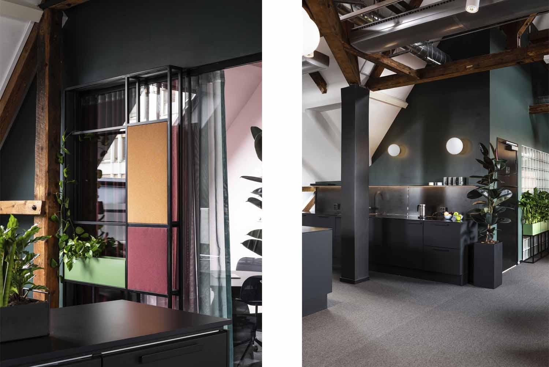 kjøkken, design, kontor, kontorkjøkken, åpen løsning, interiørarkitektur, interiør