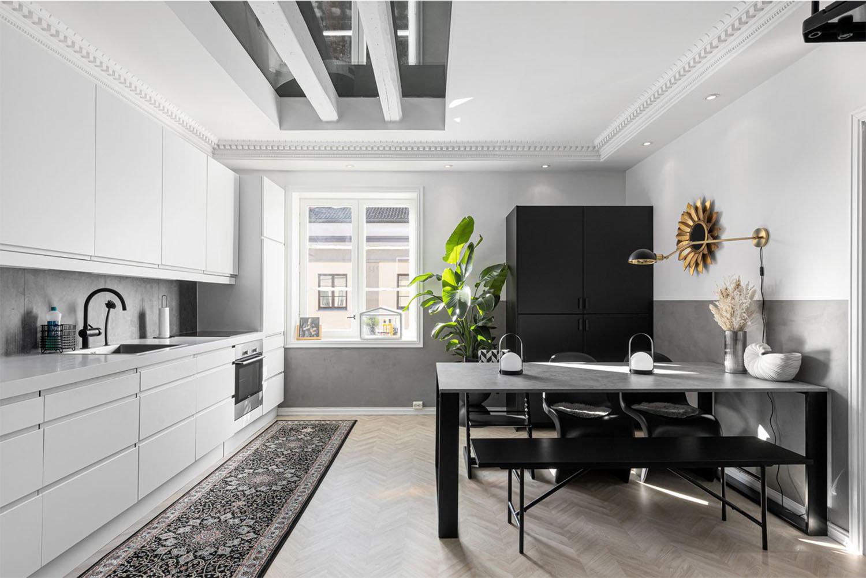 interiørarkitekt stor kjøkken