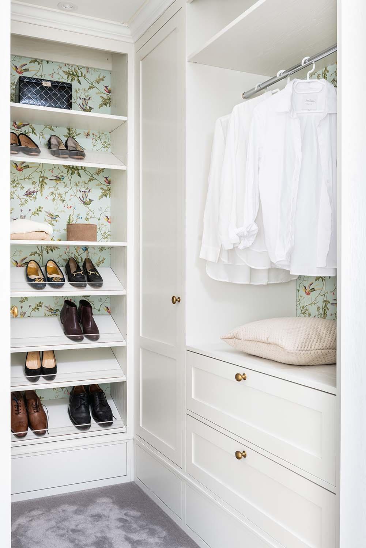 bolig smarte løsninger garderobe