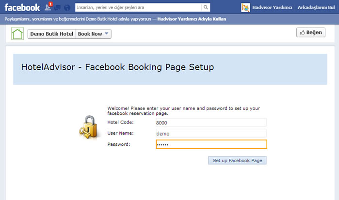 Ers Facebook İle Giriş
