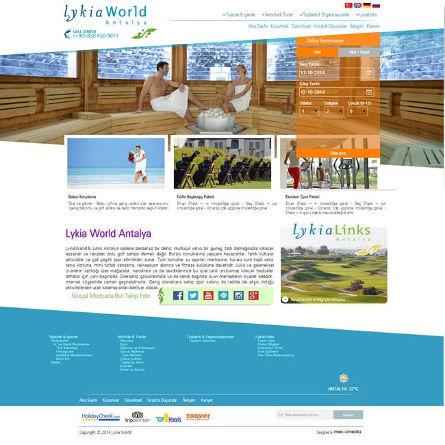 Ers Referanslarımız Lykia World Antalya