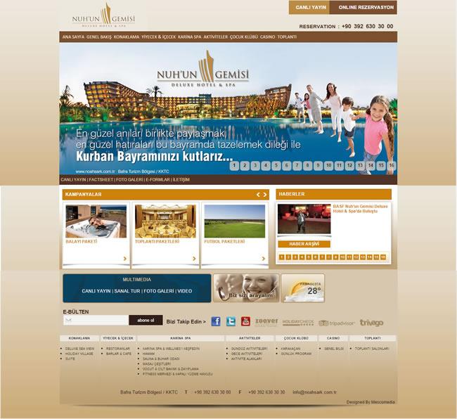 Ers Referanslarımız Nuh'un Gemisi Deluxe Hotel & SPA