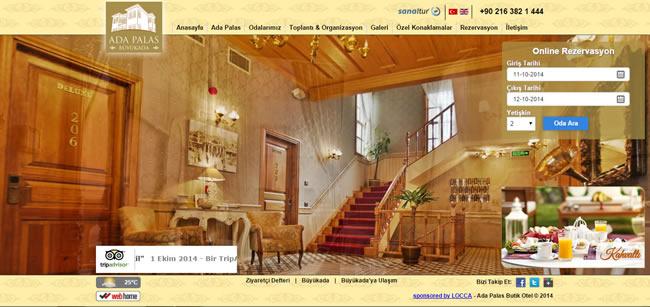Ers Referanslarımız Ada Palace Hotel