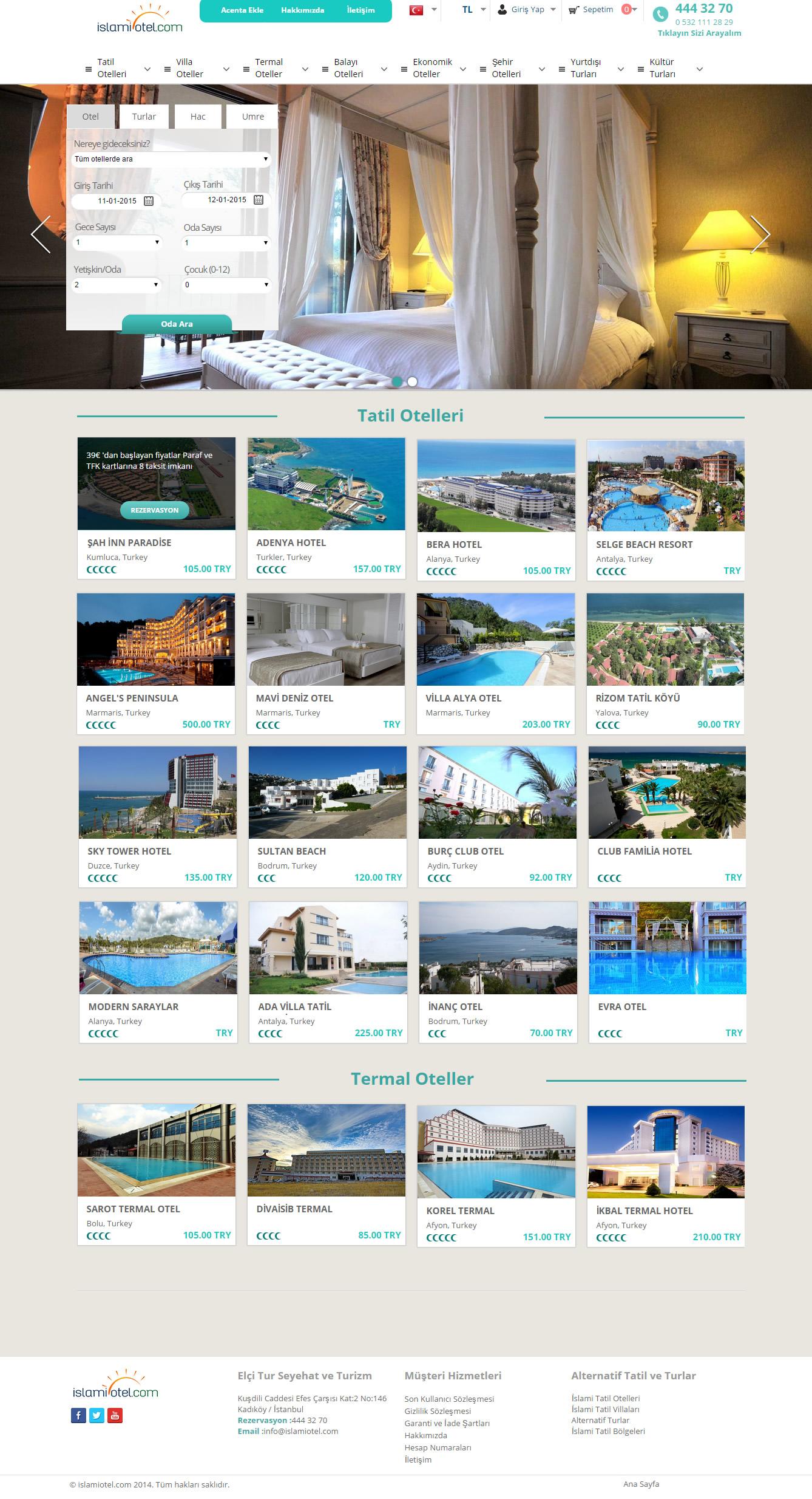 Ers Referanslarımız İslami Otel