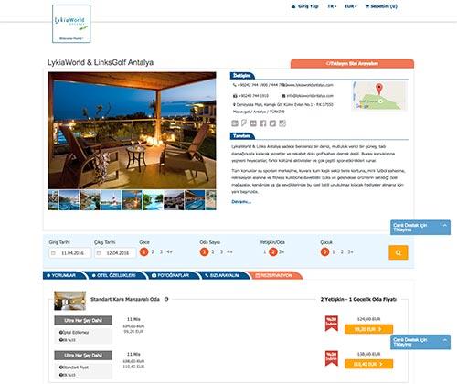 Lykia World Booking