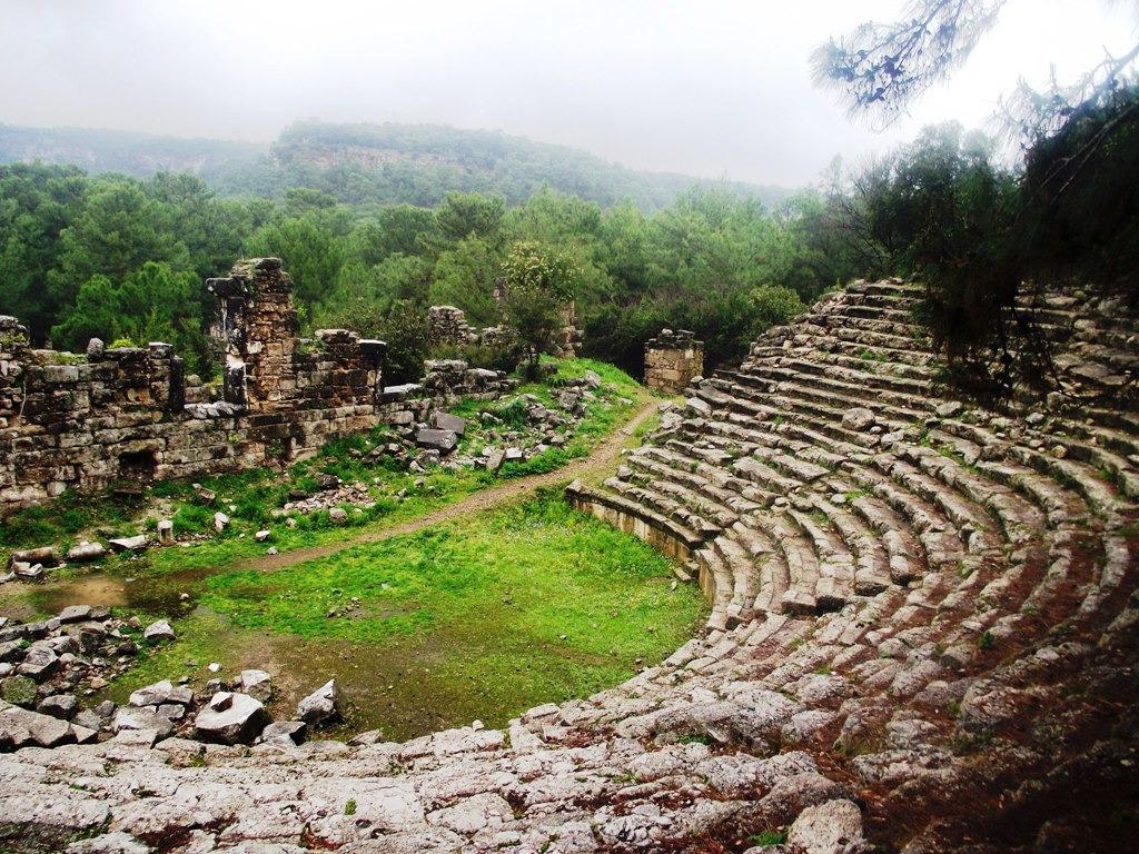 phaselis antik tiyatro Turu