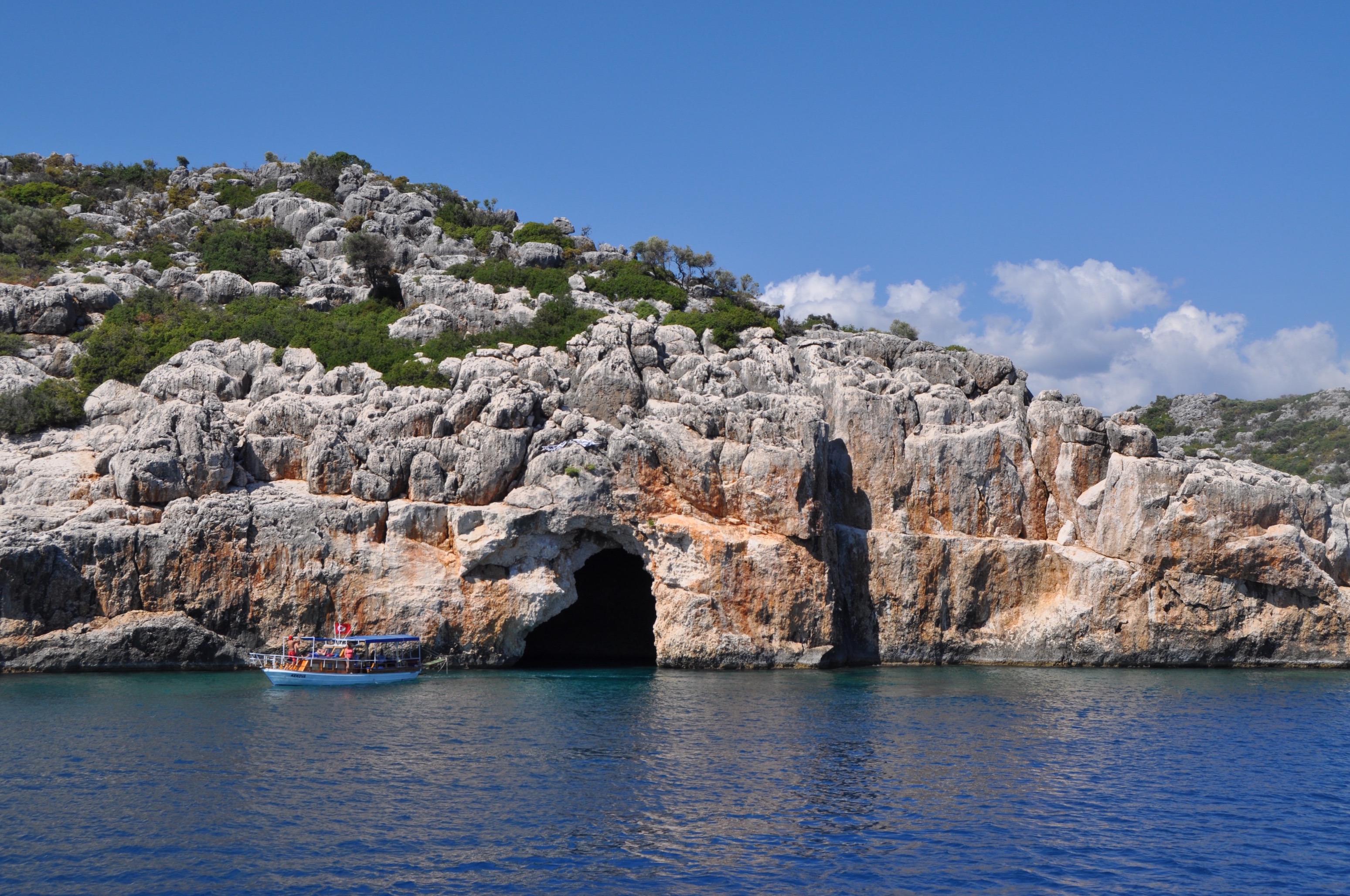 korsan mağarası Turu