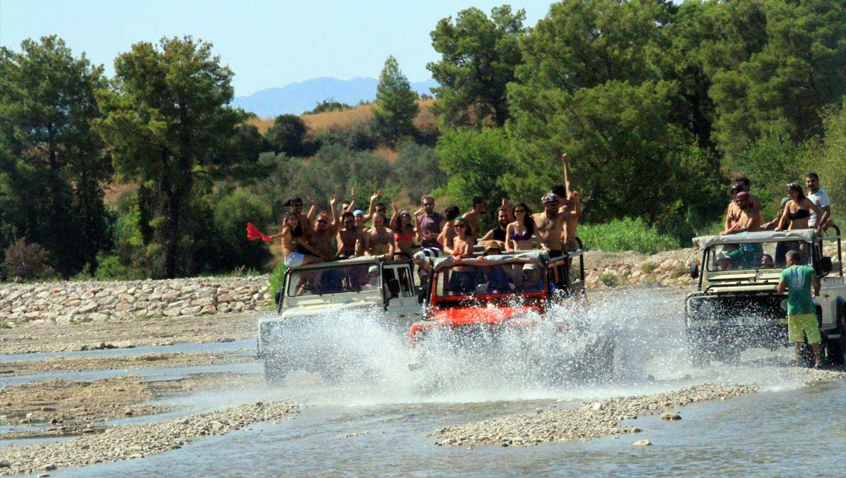 Antalya Jeep Safari Turu
