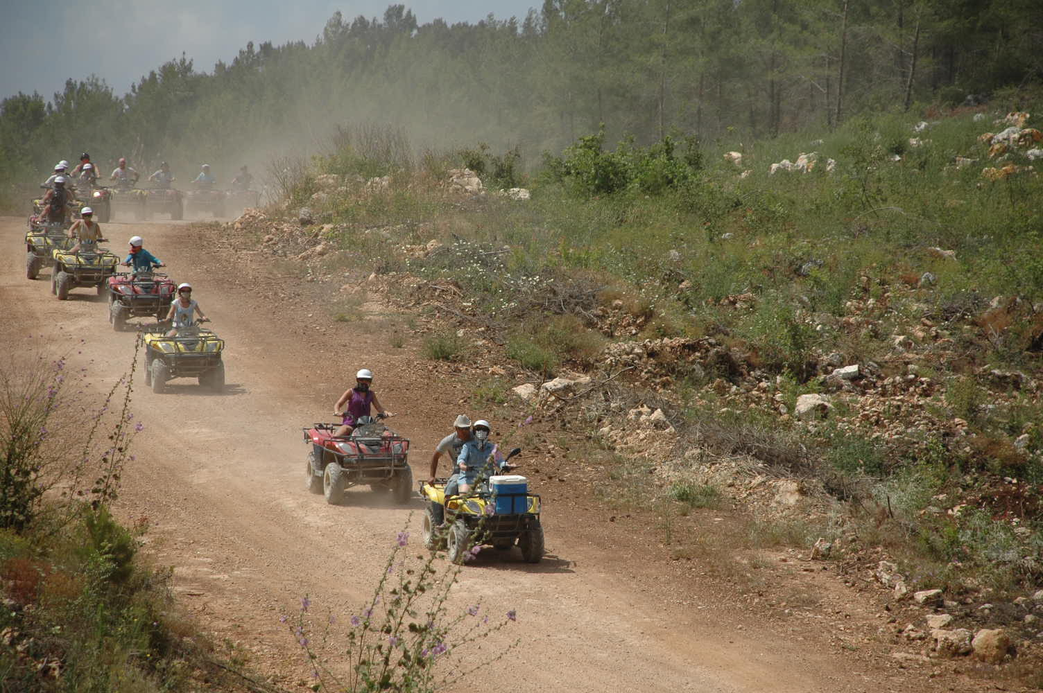 Antalya Quad Safari Turu