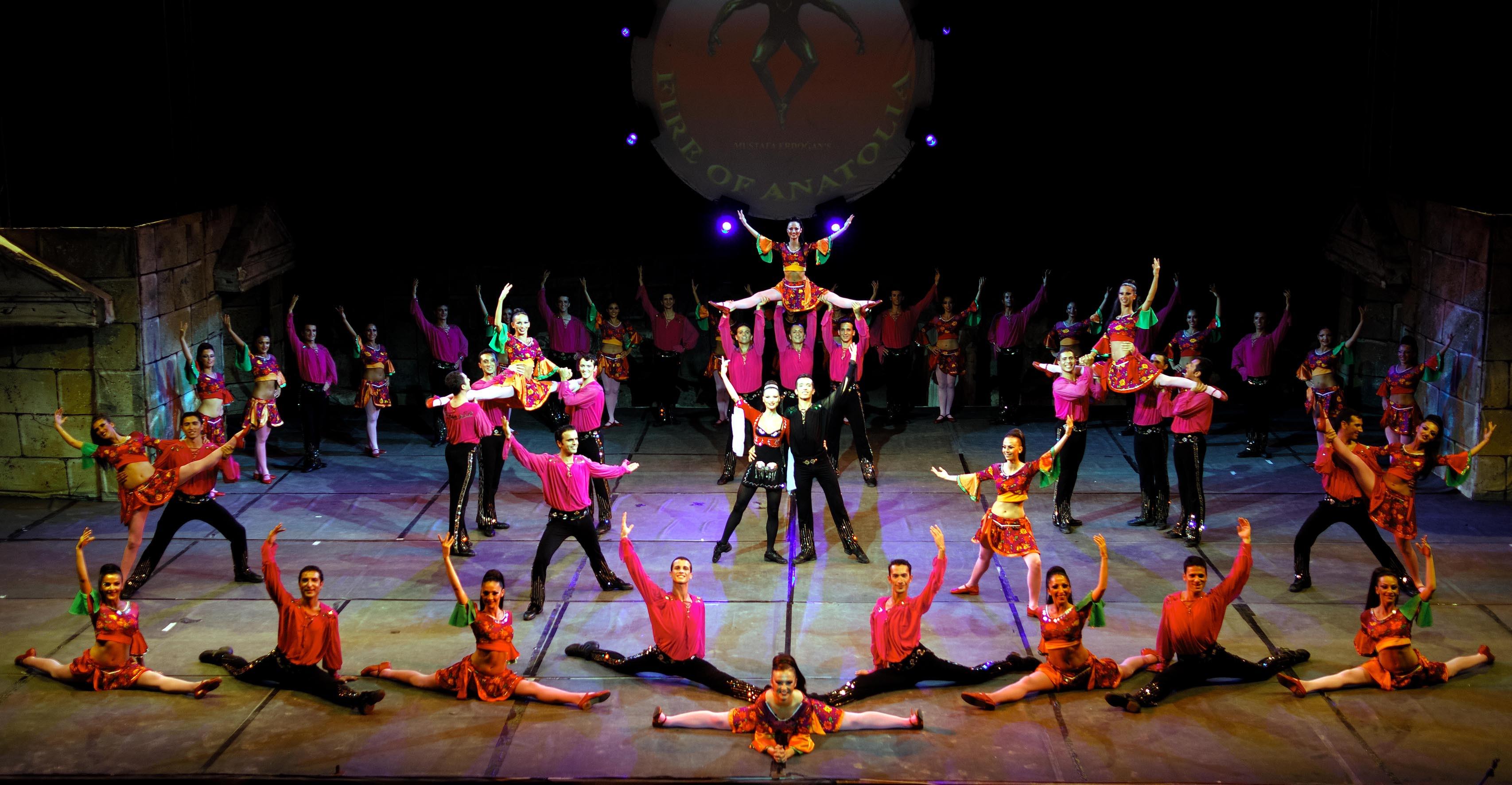 Anadolu Ateşi Dans Gösterisi