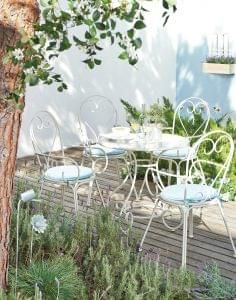Rochelle five-piece outdoor dining set from Next, £299