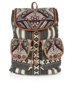 Jolene Wow embellished backpack, Accessorize, £37