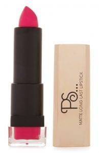 Hot pink matte lipstick, Primark, £1.50