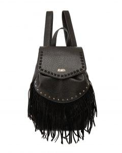 Faith black tassel rucksack, Debenhams, £45
