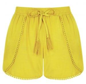 Yellow shorts, Next, £18