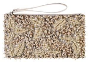 2 Rose gold embellished clutch, Wallis, £28 For evenings out