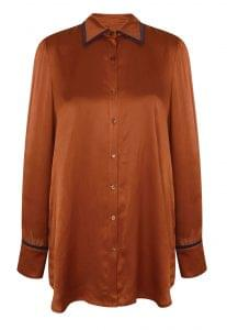 Rusty silk shirt, Debenhams, £36.