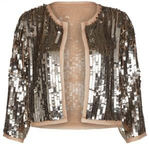 0a15ca4d4337 The sequin jacket, perfect to throw over your party dress, from River  Island, ...
