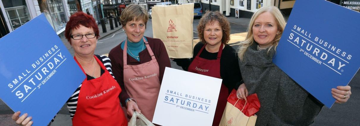 l-r-rose-norman-and-gill-gradwell-from-cooking-kneads-gaynor-jones-and-trish-donovan-from-vinterior