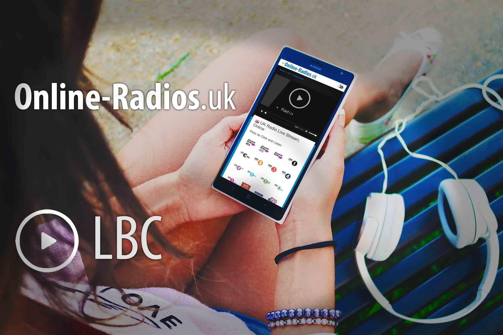 LBC UK Radio Player-Online-Radios uk