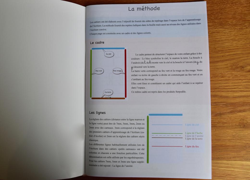 Cahier d'écriture GS/CP – écriture cursive