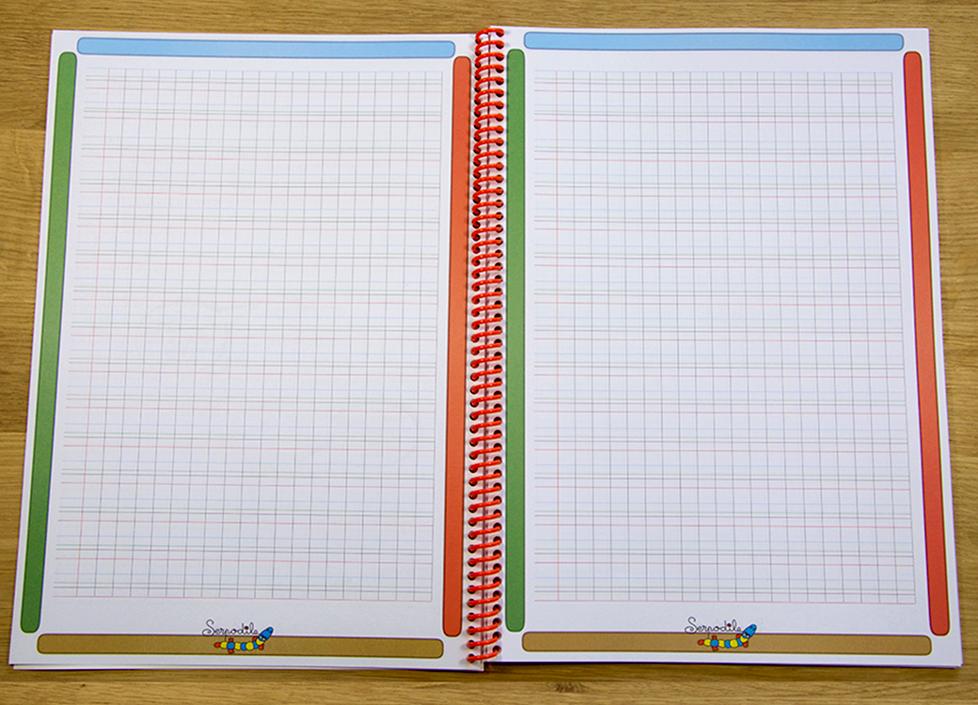 Mon Cahier 2 mm à carreaux