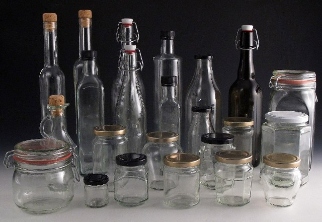 1 Glass Bottles   Jars