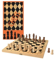 Wooden Chess Set (Order in 2's)
