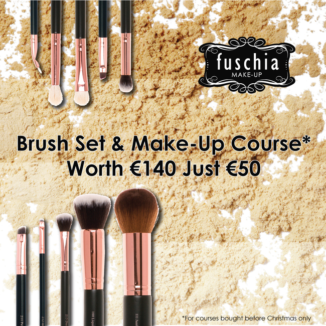 make up course brush set