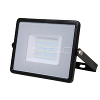 30W SMD Floodlight + Samsung Chip 6400K Black