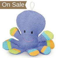 Washcloth Puppet - Octopus