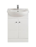 55cm Vanity Unit, Basin & Free Bio Basin Tap