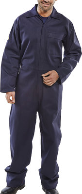 Click Premium Navy Flame Retardant Boilersuit