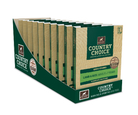 Gelert Country Choice Dog Trays Lamb 395g x 10