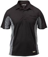 APACHE Dry Max Polo Shirt Black
