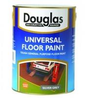 DOUGLAS UNIVERSAL FLOOR PAINT MID GREY 5 LTR