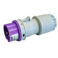 24V Straight Connector 2P + T 16A IP44