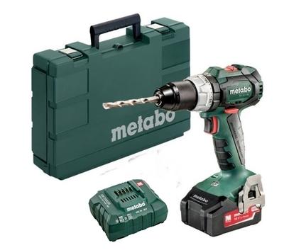 Metabo Cordless Combi Drill / Screwdriver  4.0 Ah Kit SB 18 LT Brushless