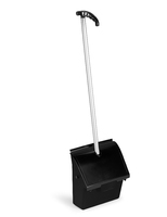 JOBBY DUST PAN WITH LID BLACK