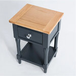 Sussex Navy Lamp Table 4