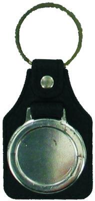 PU Key Fob (25mm Recess)