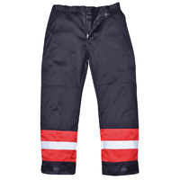 FR56 Bizflame FR AST Trousers Navy c/w Reflective Strips