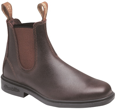 Blundstone 059 Throughbred NON Safety Slip On Dress Boot Brown