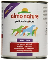 Almo Nature Dog Daily Menu Can - Beef 800g x 12